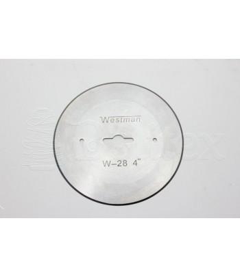 """Lamina circular LR4-1/4""""..."""